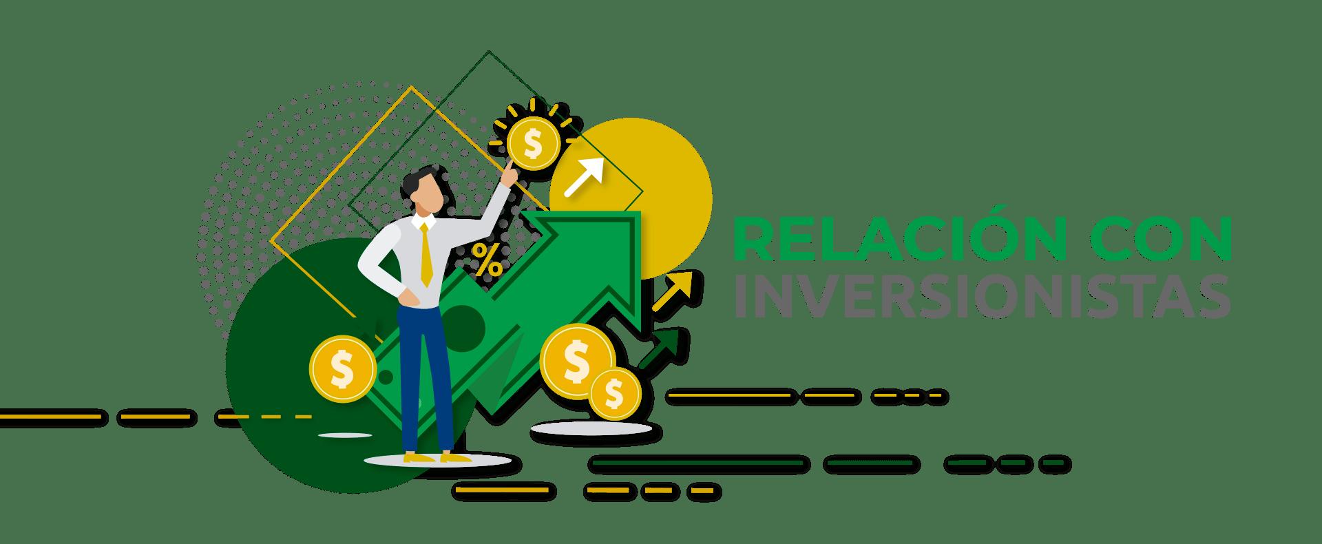 Encabezado Relación con Inversionistas