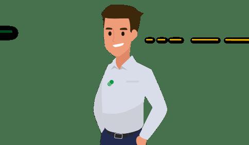 Icono Crédito Grupal - visita de un asesor